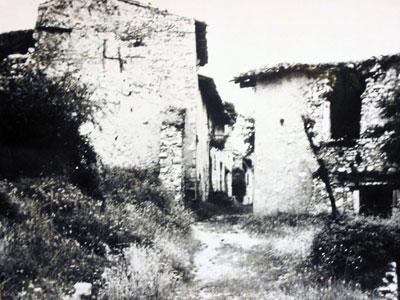 Cobonne désertée après la guerre