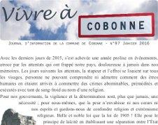 Parution de Vivre à Cobonne n°97 – Janvier 2016