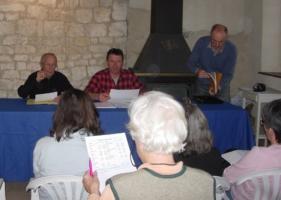 Photo assemblée générale Amis du Vieux Cobonne