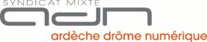 Logo Syndicat mixte Ardèche Drôme Numérique