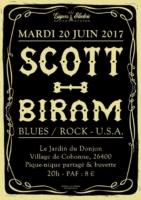 Affiche concert Scott Biram - Mardi 20 juin